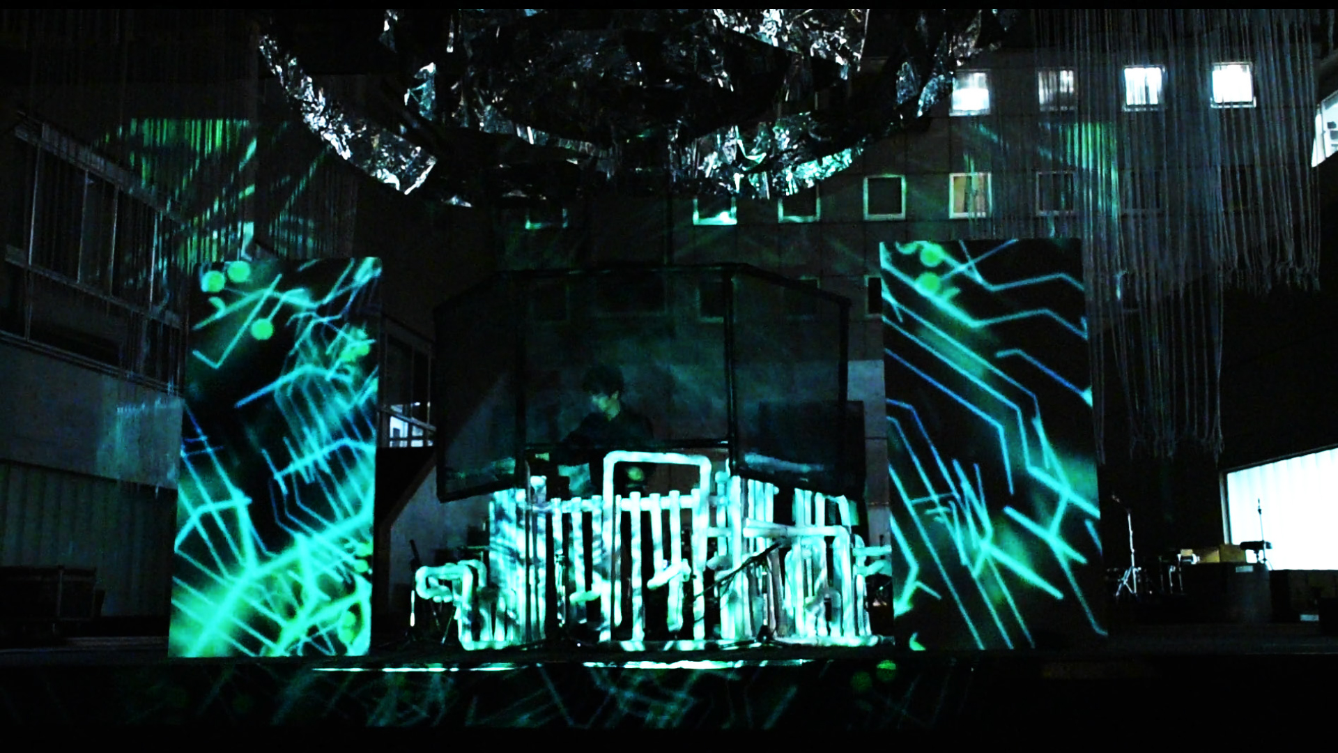 Percussion×Projection-mapping「TRIP」