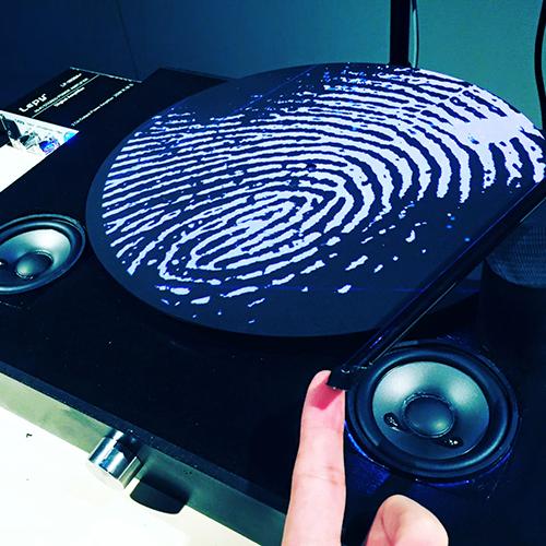 指紋のレコード