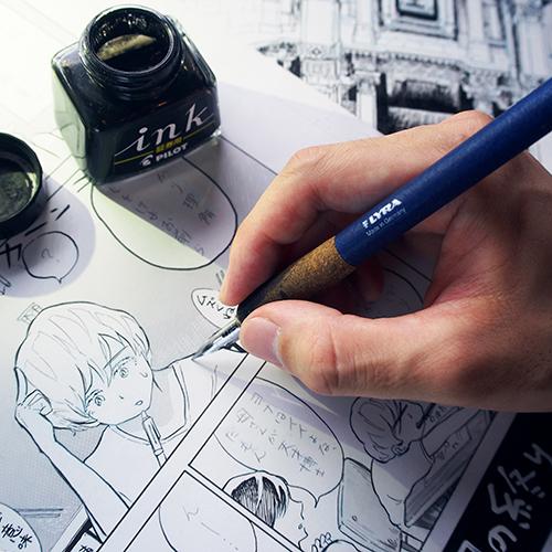 「建築漫画家、連載への挑戦」芦藻彬さんインタビュー