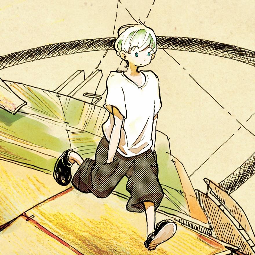 芦藻 彬さん、「ジヘン」にて読み切り漫画を掲載!