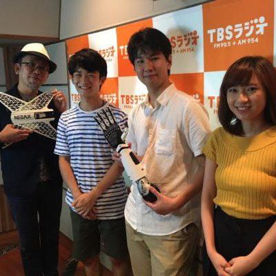 岩瀬さん、小笠原さん、TBSラジオに出演!