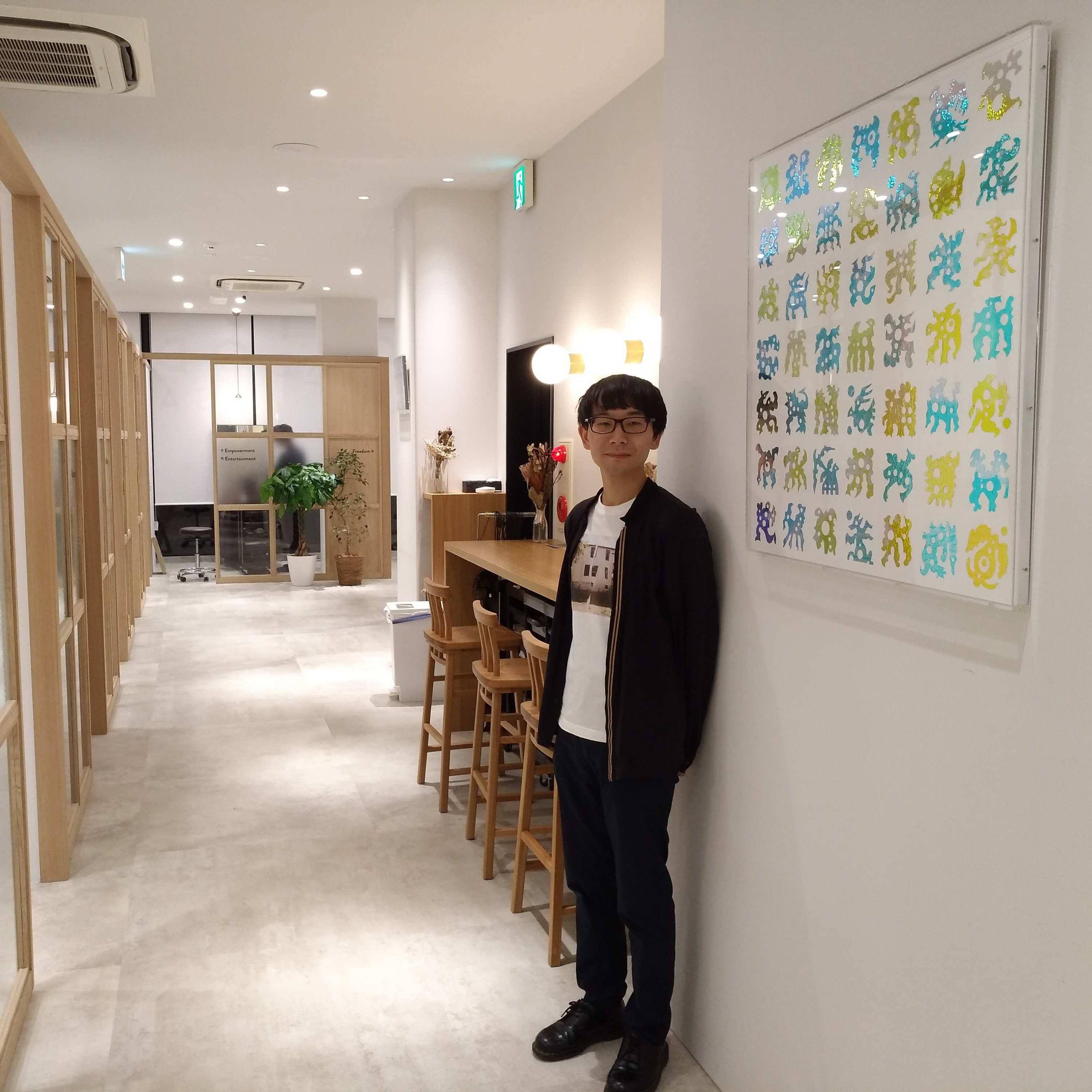 植田 爽介さんの作品4点、原宿の個室美容室に常設展示!