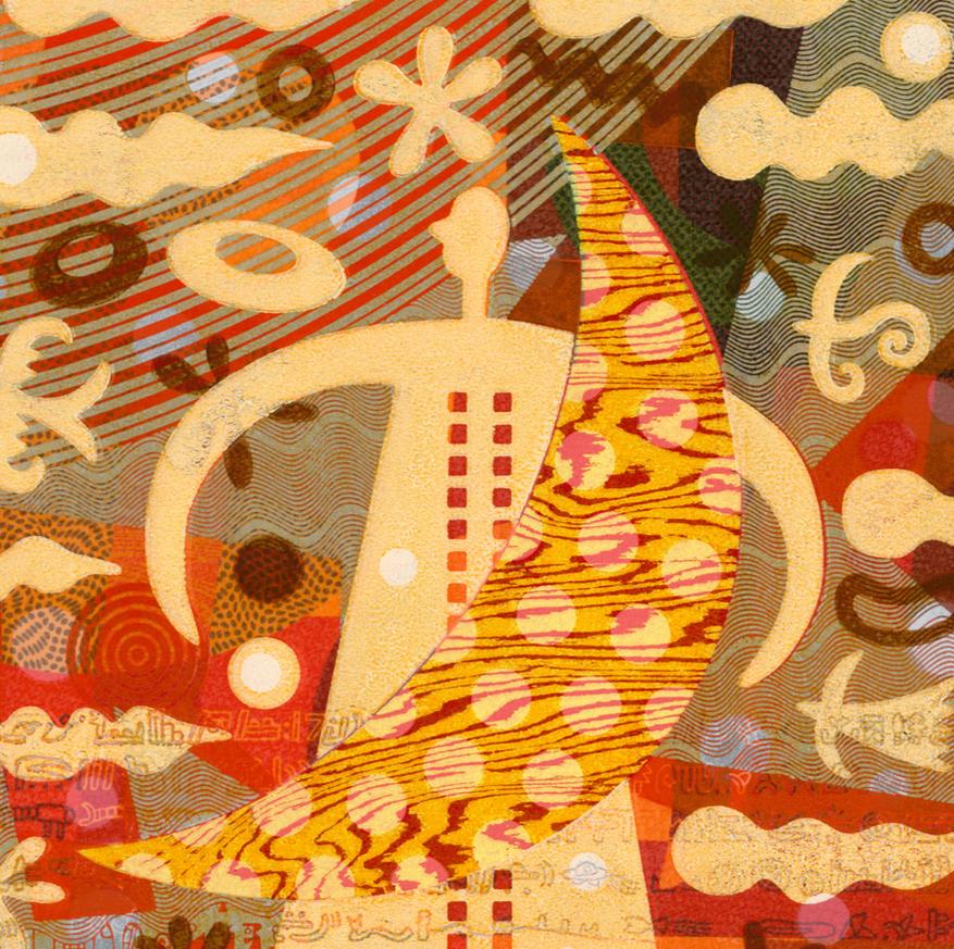 しろこまたおさん、東京国立市「Watermark arts & crafts 」にて作品展示中!