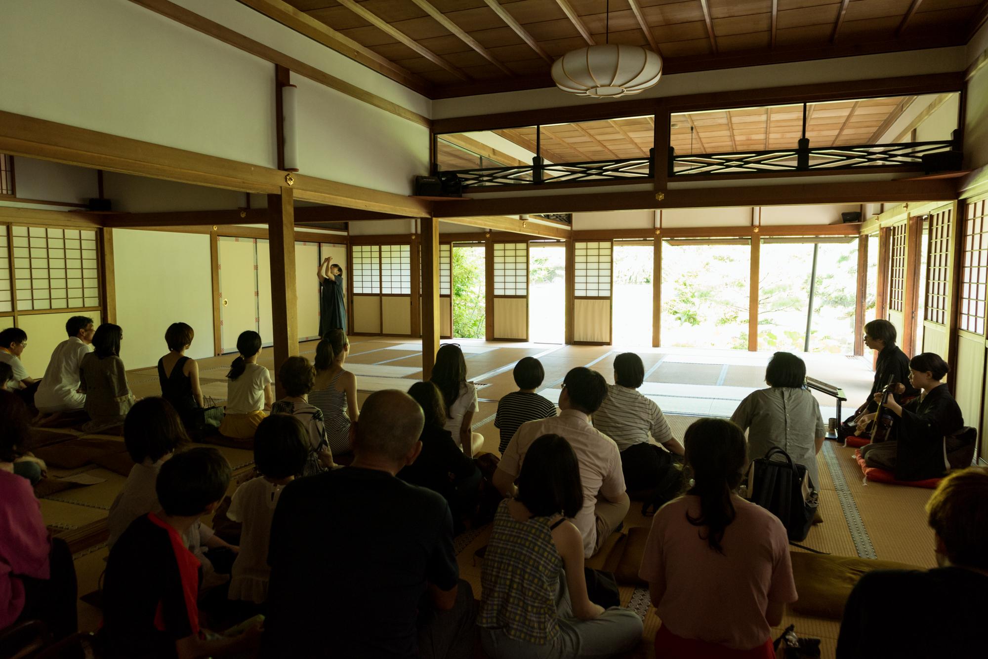 山道弥栄自主企画#01『三輪-義太夫とコンテンポラリーダンスによる-』