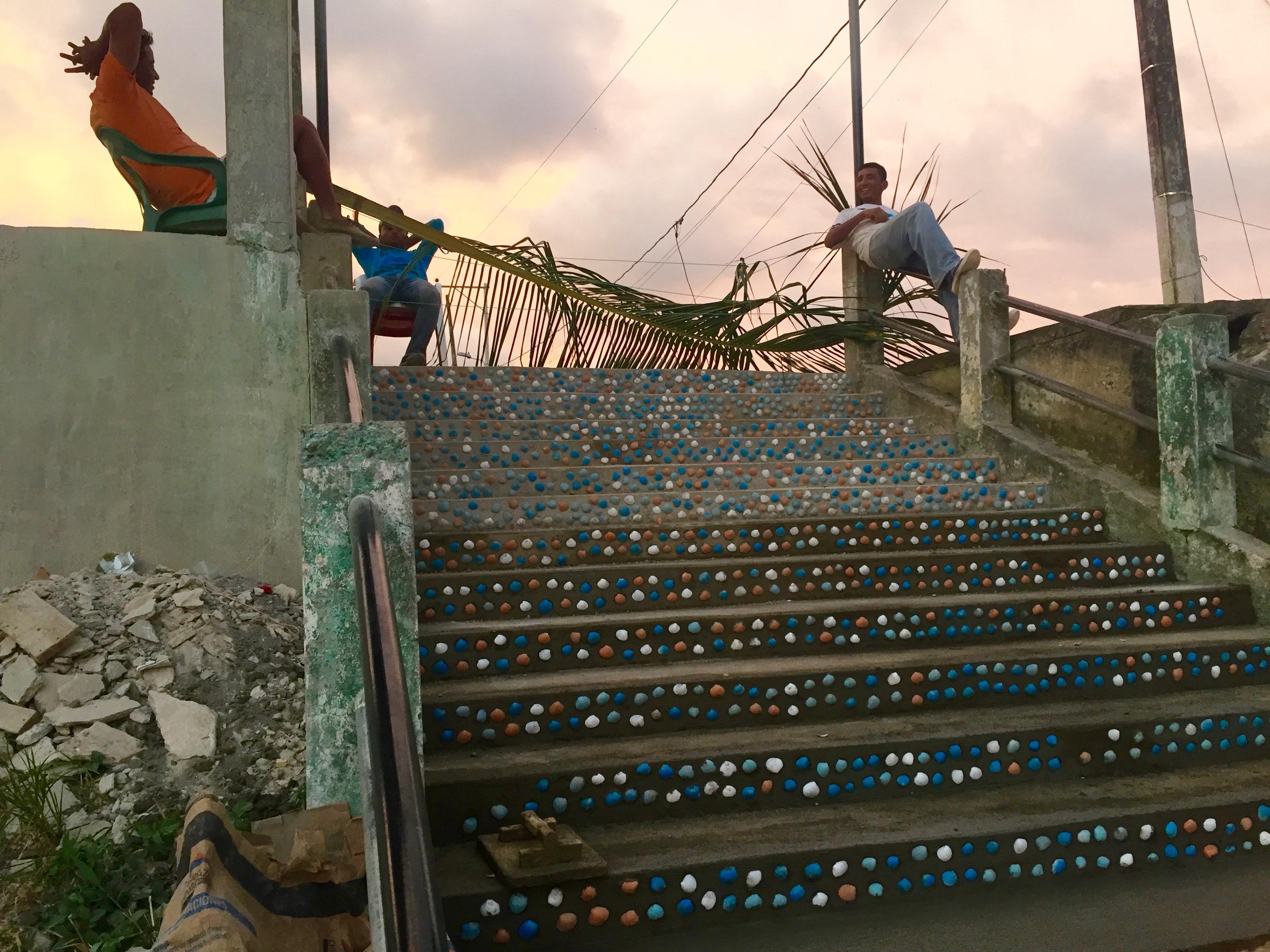 La escalera de concha