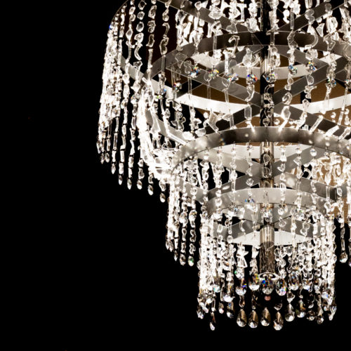 When Luxury meets Damage= Chandelier