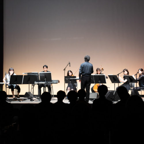 'On hearing the yellow wind‥‥' for 7 musicians and electronics