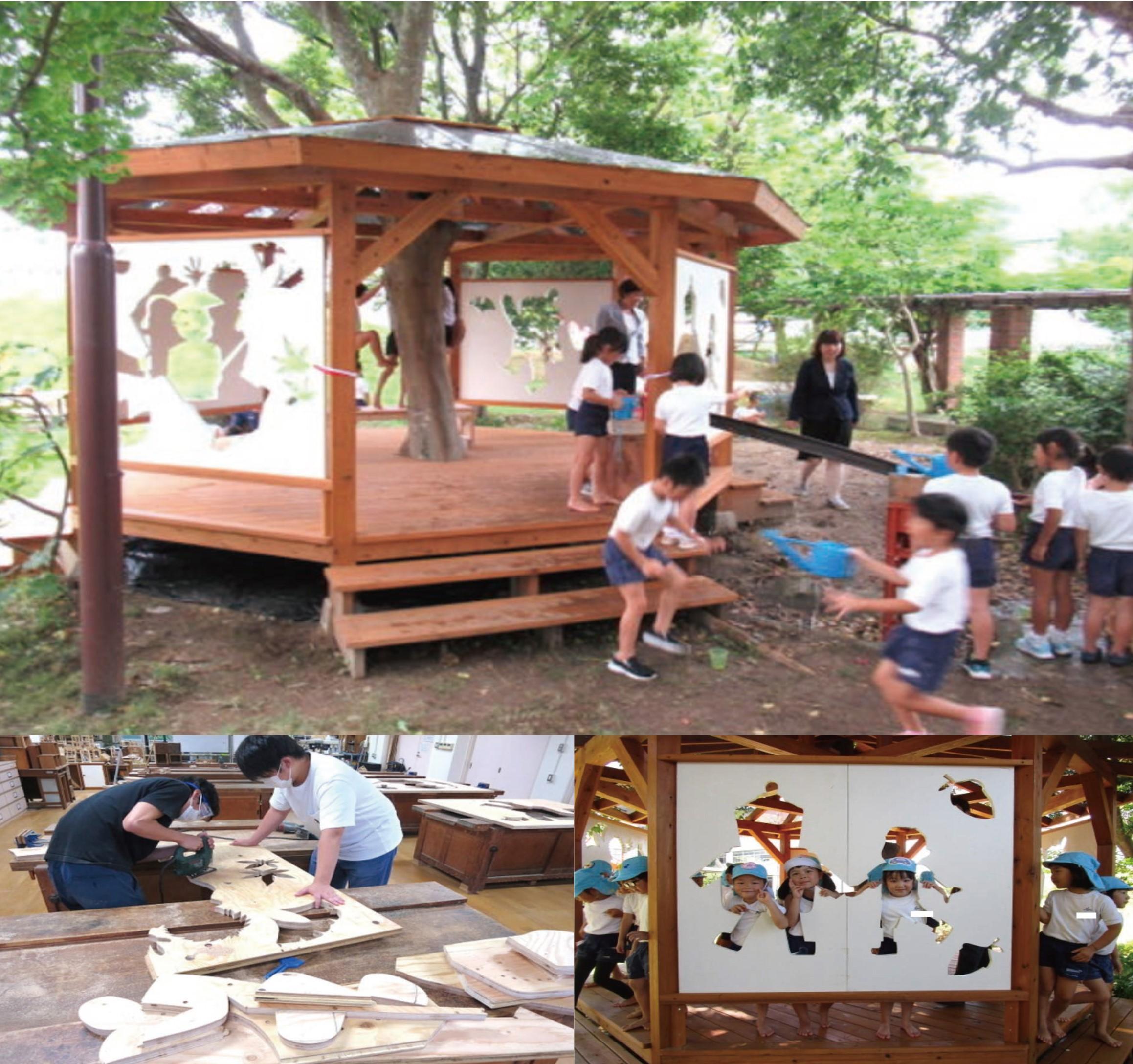 保育園の木育プロジェクト