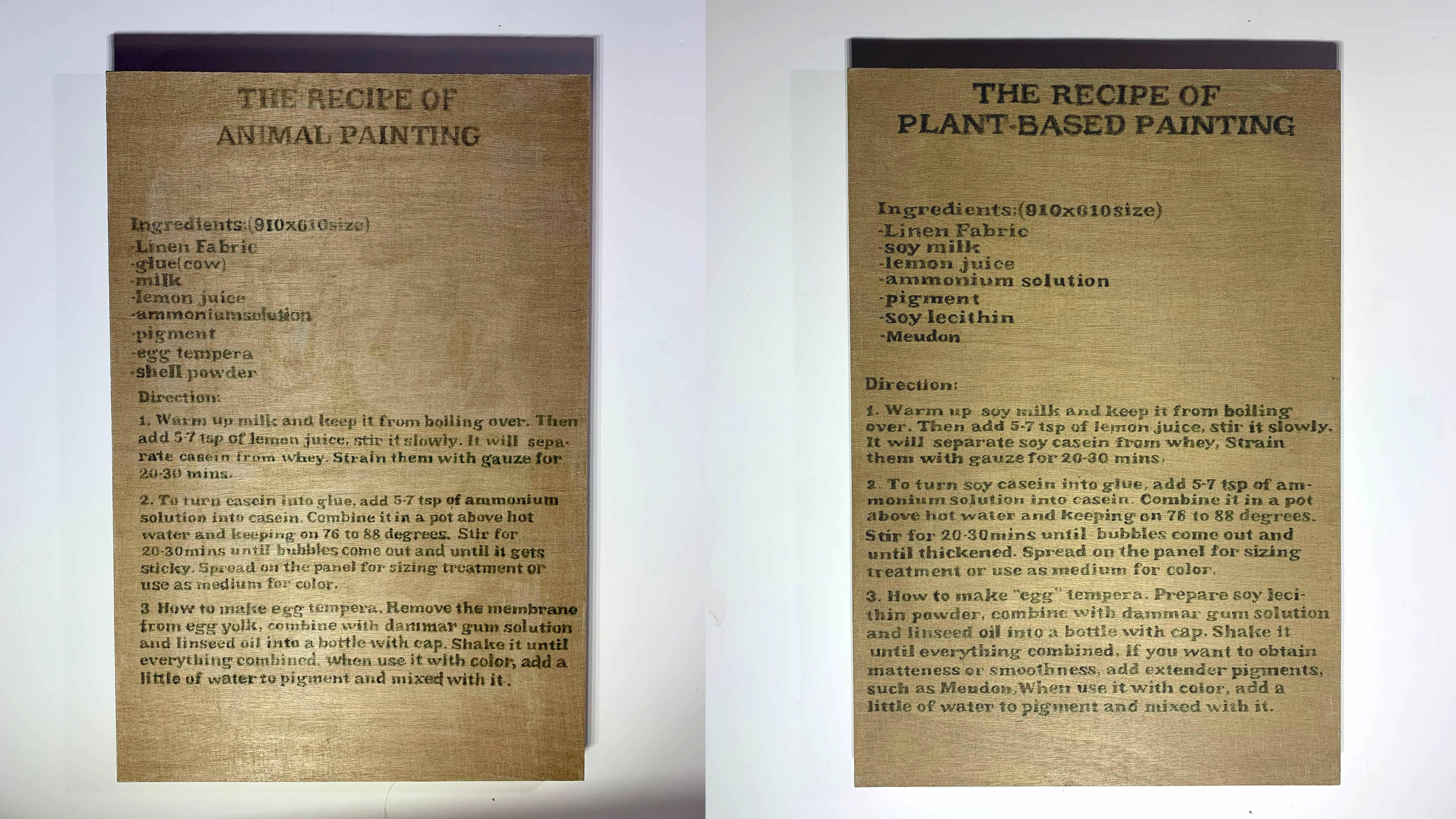 動物性絵画、植物性絵画