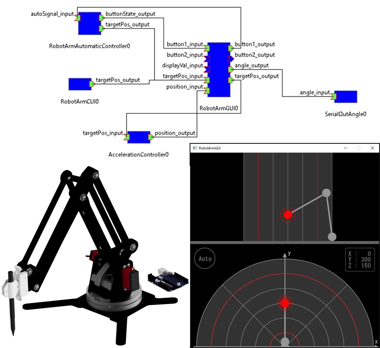 ロボットアーム操作ソフトウェア