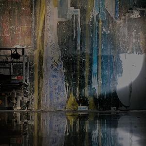 倉敷安耶さん、小伝馬町にあるアートホテルにて6m×6mの巨大壁画を制作!